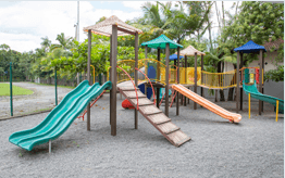 Playgrounds and Orchard