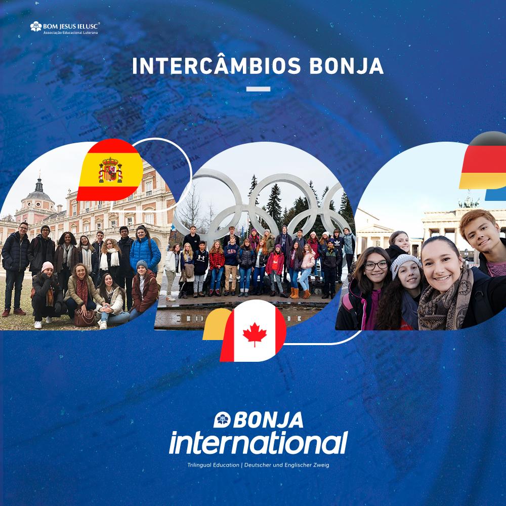 Bonja proporciona vivências internacionais a estudantes